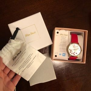 Women's Fashion Watch-Mon Amie w/ box/tags